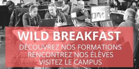 Wild Breakfast - Présentation Ecole & Formations - Wild Code School Tours billets