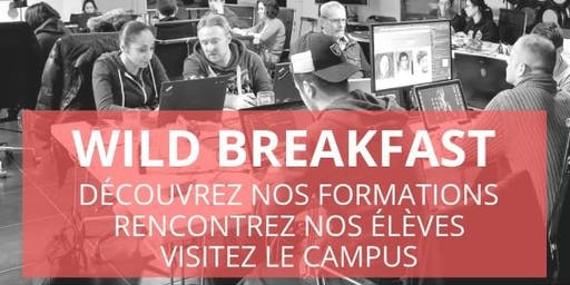 Wild Breakfast - Présentation Ecole & Formations - Wild Code School Tours