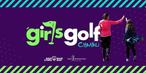 Girls Golf Cymru Holiday Camp at Llantrisant and Pontyclun Golf Club - Talbot Green.