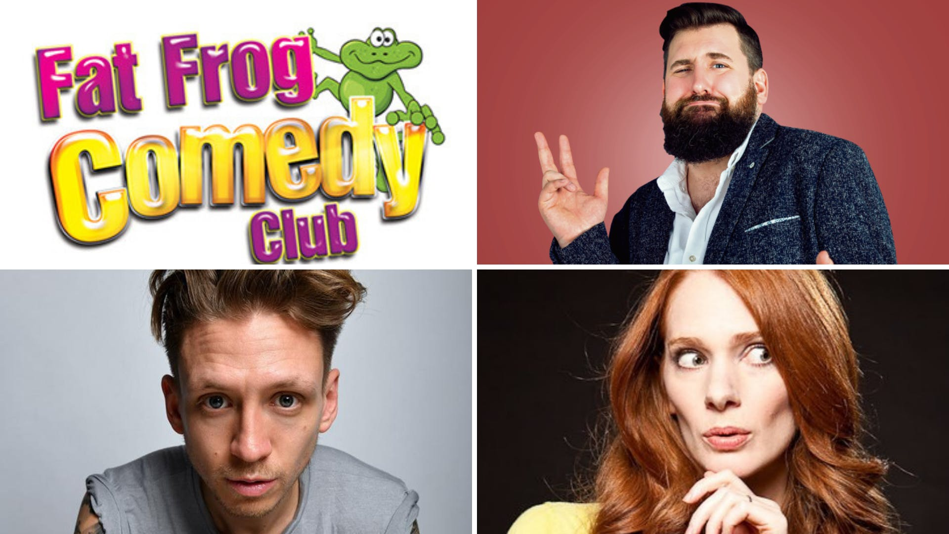 Fat Frog Comedy with Garrett Millerick and Alistair Williams