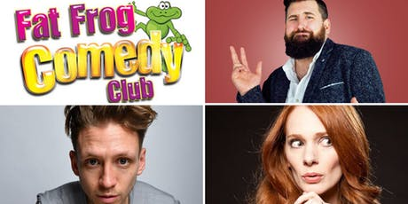 Fat Frog Comedy with Garrett Millerick and Alistair Williams tickets