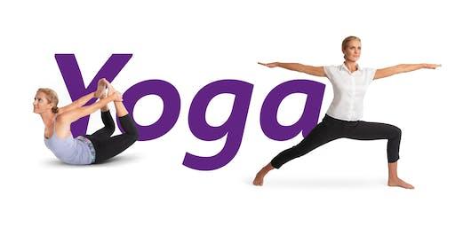 Yoga in den Sarotti-Höfen.