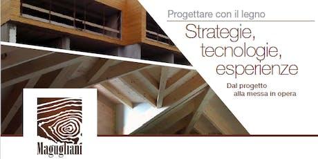CORBETTA - Progettare con il legno. Strategie, tecnologie, esperienze: dal progetto alla messa in opera biglietti