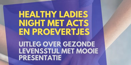 Healthy Ladies Night tickets