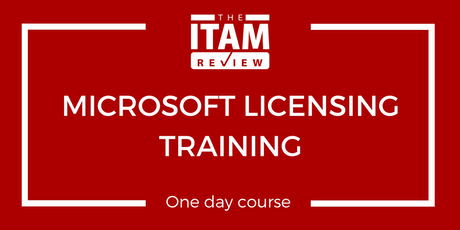 2020 US Microsoft Licensing Training Course tickets