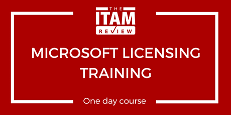 2020 US Microsoft Licensing Training Course bilhetes
