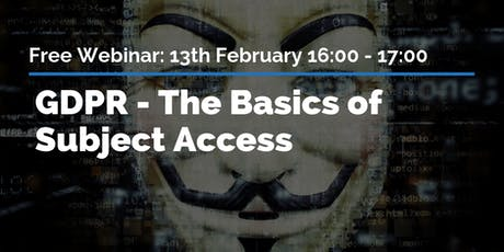GDPR - The Basics of Subject Access tickets