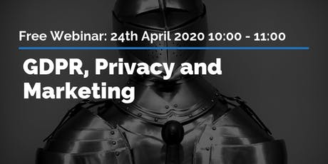 GDPR, privacy and marketing tickets