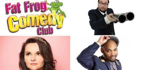 Fat Frog Comedy with Gary Delaney and Rachel Fairburn tickets