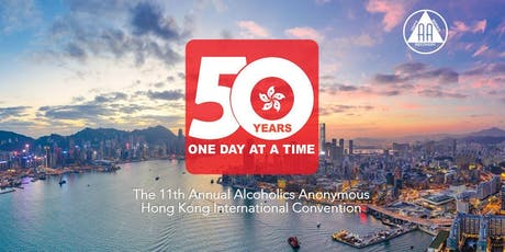 50 Years, One Day at a Time: The 11th AA HK International Convention  tickets