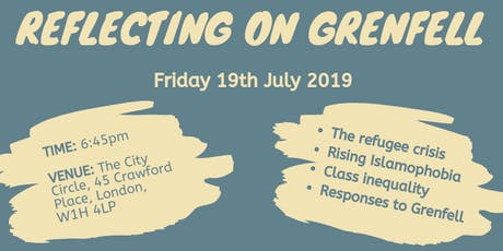 Reflecting on Grenfell tickets