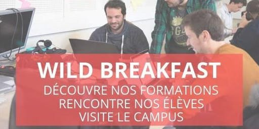 Wild Breakfast - Présentation Ecole/Formations - Wild Code School Bordeaux