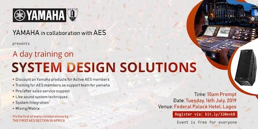 A Day Training on SYSTEM DESIGN SOLUTIONS