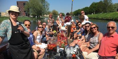 Varende High Tea in de Biesbosch (tegen betaling)