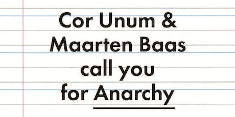 Design Contest Cor Unum – Anarchy – Speed-date tickets