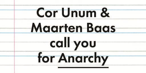Design Contest Cor Unum – Anarchy – Speed-date