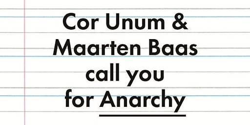 Design Contest Cor Unum – Anarchy – Speed-date
