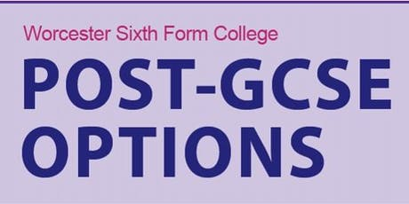 Post-GCSE Options Event tickets