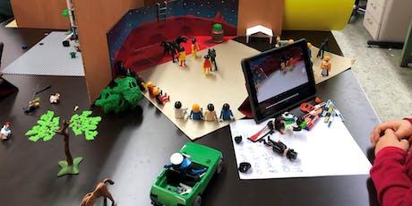FabLabKids: Ferien-Trickfilm-Werkstatt Kompakt - Stop-Motion-Movies mit dem iPad Tickets