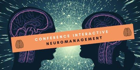 Conférence Neuromanagement à Bruxelles - 27 aout 2019 billets