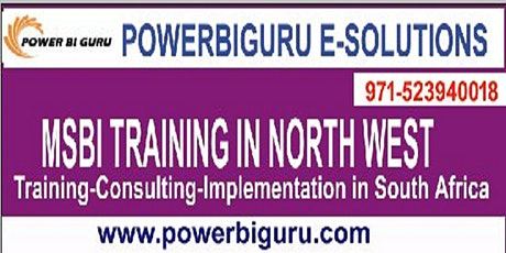 MSBI(SSAS,SSIS,SSRS) training in North West,South Africa Tickets