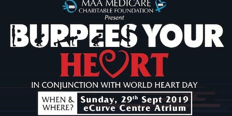 BURPEES YOUR HEART tickets