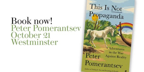 Prospect Book Club - Peter Pomerantsev tickets