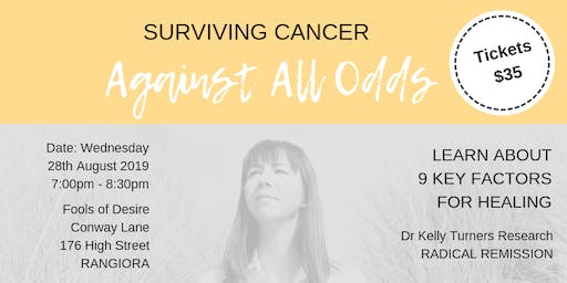 Surviving Cancer - Against All Odds - Rangiora