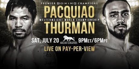 Pacquiao vs Thurman  tickets