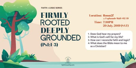 Firmly Rooted Deeply Grounded tickets