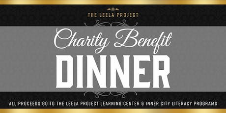Leela Project Charity Benefit Dinner tickets