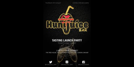 Hunijuice Bar Tasting Launch Party tickets