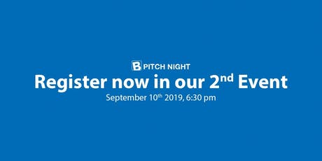 Brussels Pitch Night tickets