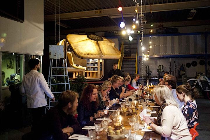 Afbeelding van Atelier Mies Loogman - Lunch inclusief bijpassende dranken