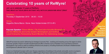 Celebrating 10 years of ReWyre! tickets