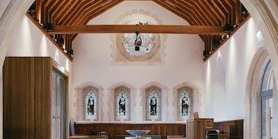 Tour & Talk in the Chapel by Design Engine Architects