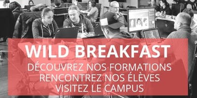 Wild Breakfast - Présentation Ecole/Formations - Wild Code School Marseille