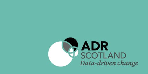 TalkingData: ADR Scotland mini-summit