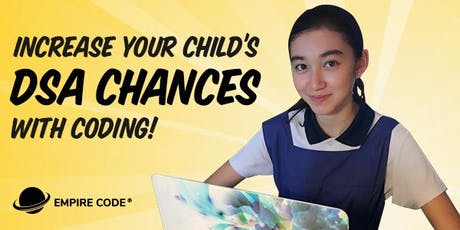 Increase Your Child's DSA Chances With Coding tickets