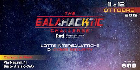 GalaHACKtic Challenge - Lotte intergalattiche di Cyber Security biglietti
