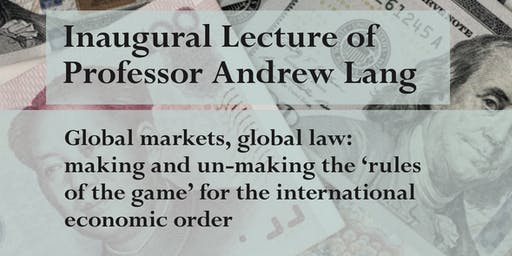 Prof Andrew Lang Inaugural Lecture