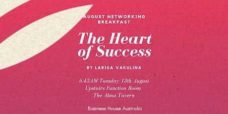 August Networking Breakfast tickets