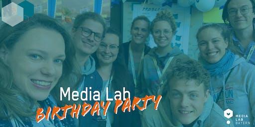 Media Lab Birthday Party