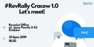 #RevRally Cracow 1.0: Let's meet!