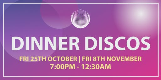 2019 Dinner Discos | Hadlow Manor
