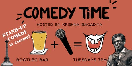 Comedy Time (in English!) billets