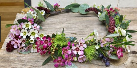 HWED WildStyle Floral Crowns Workshop tickets