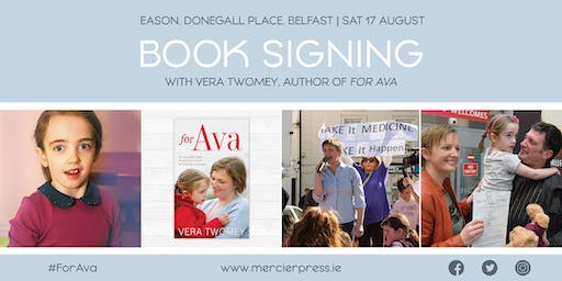 Belfast Easons Book Signing with Vera Twomey
