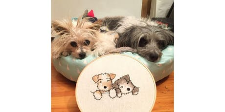 Hooray Hoop Pet Portrait Embroidery Workshop tickets