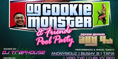 FFM : Og Cookie Monster & Friends Pool Party tickets